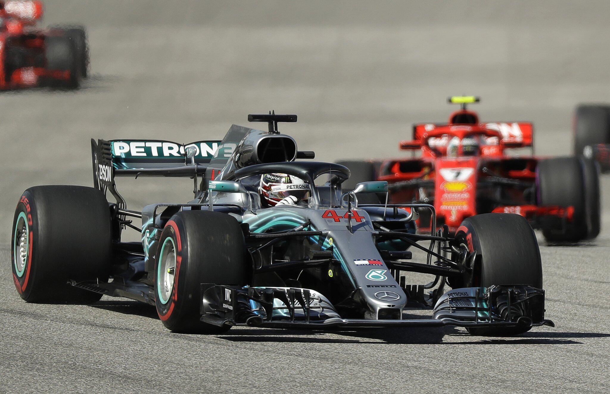 Bild zu F1: Grand Prix der USA - Rennen