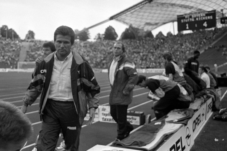 Bild zu Jupp Heynckes, FC Bayern München, Stuttgarter Kickers, Bundesliga, Uli Hoeneß, 1991/92