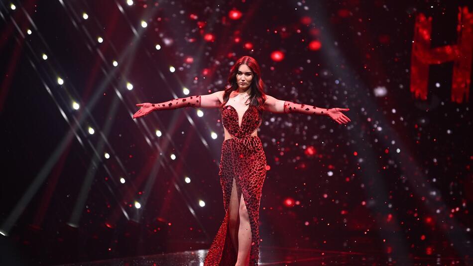 Finale von Germany's Next Topmodel - by Heidi Klum