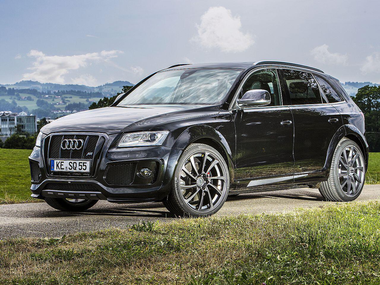 Bild zu Optisch und leistungstechnisch aufgemotzter Audi SQ5 von Abt