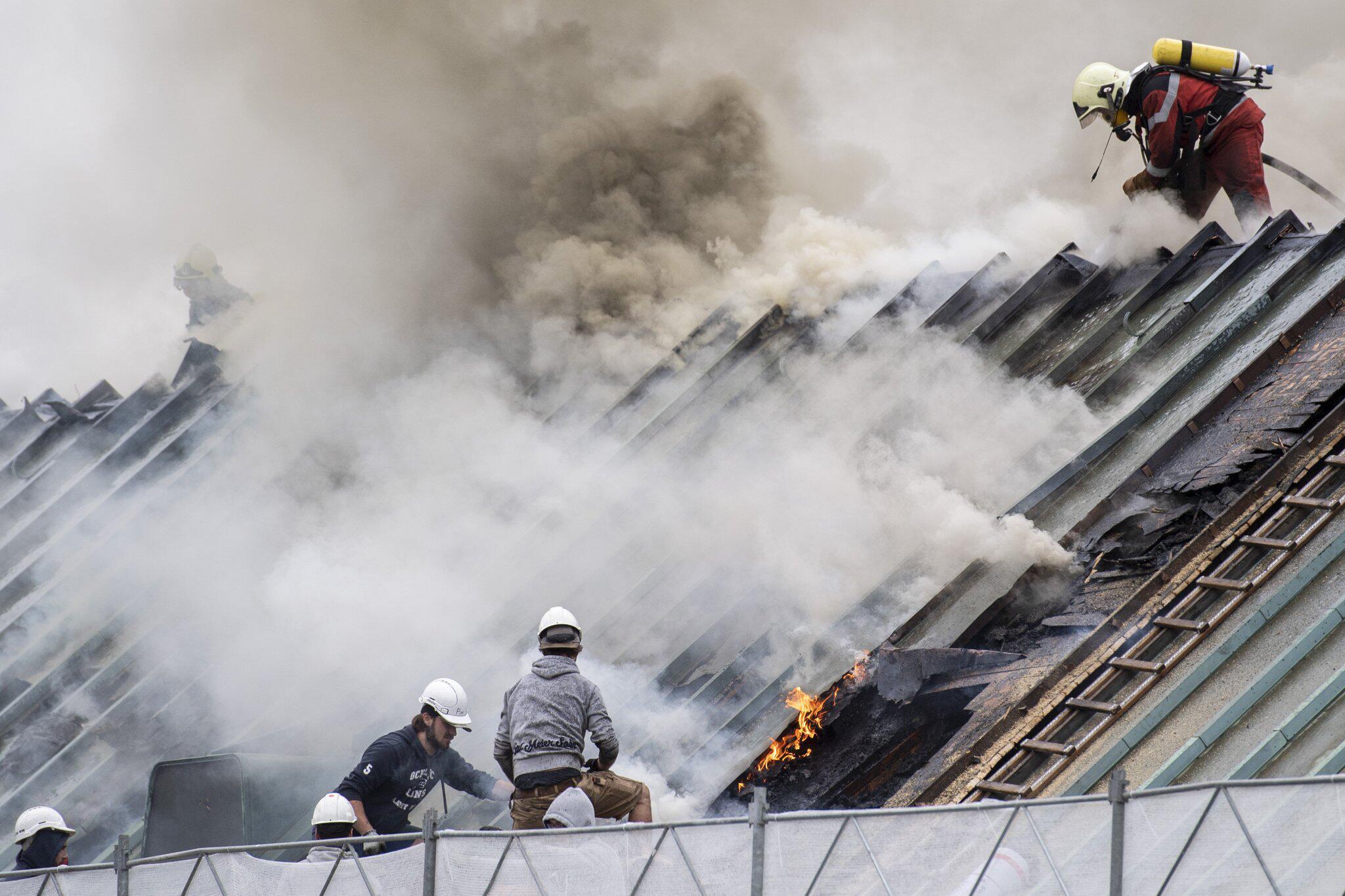 Bild zu Brand in UBS-Gebäude in Zürich