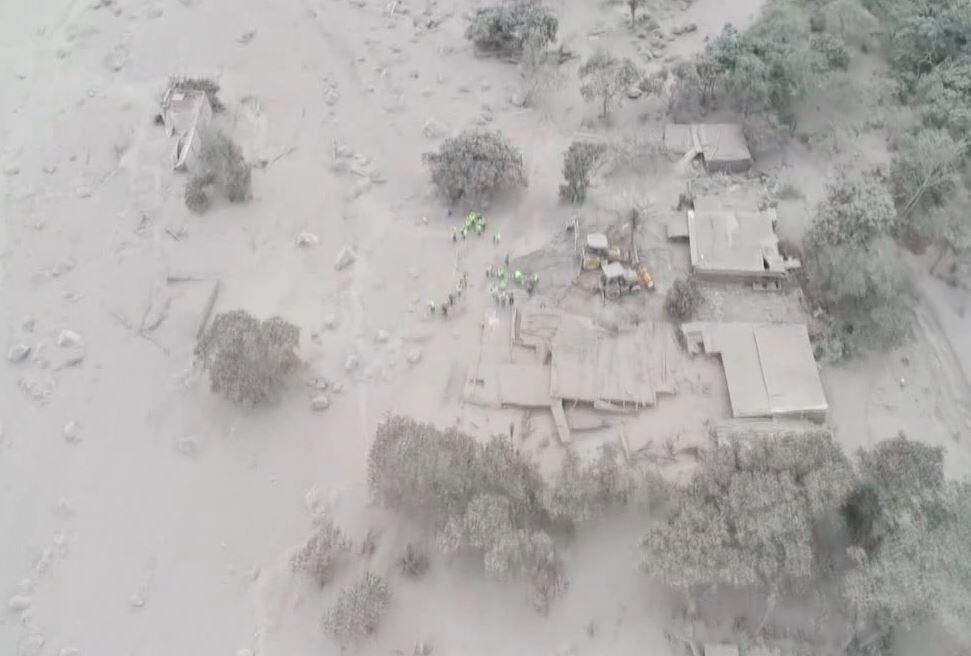 Bild zu Vulkanausbruch Guatemala