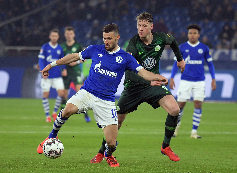 Bild zu Fußball, Bundesliga, Schalke, Wolfsburg