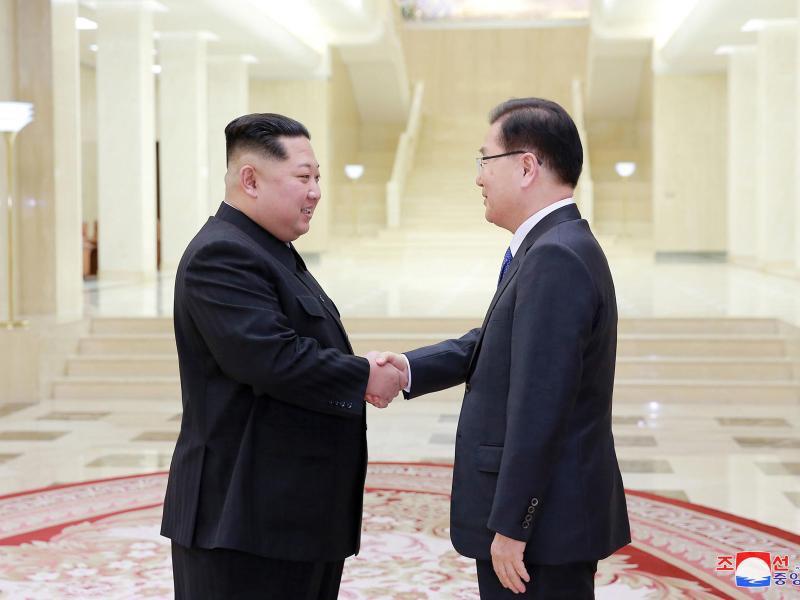 Bild zu Innerkoreanische Annäherung