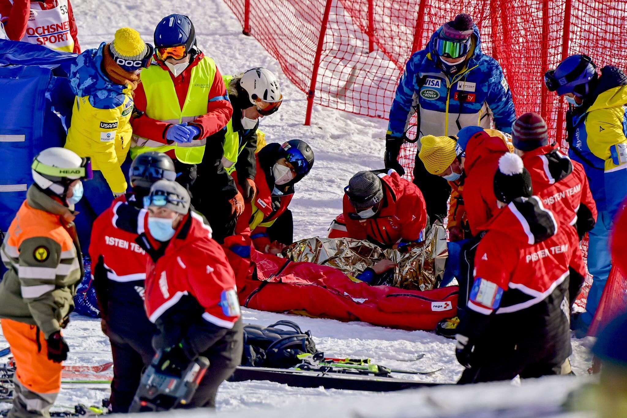 Bild zu Ski alpin - Weltcup in Adelboden