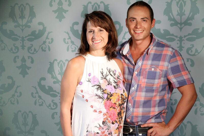 Bild zu Fabio und seine Mutter Maria