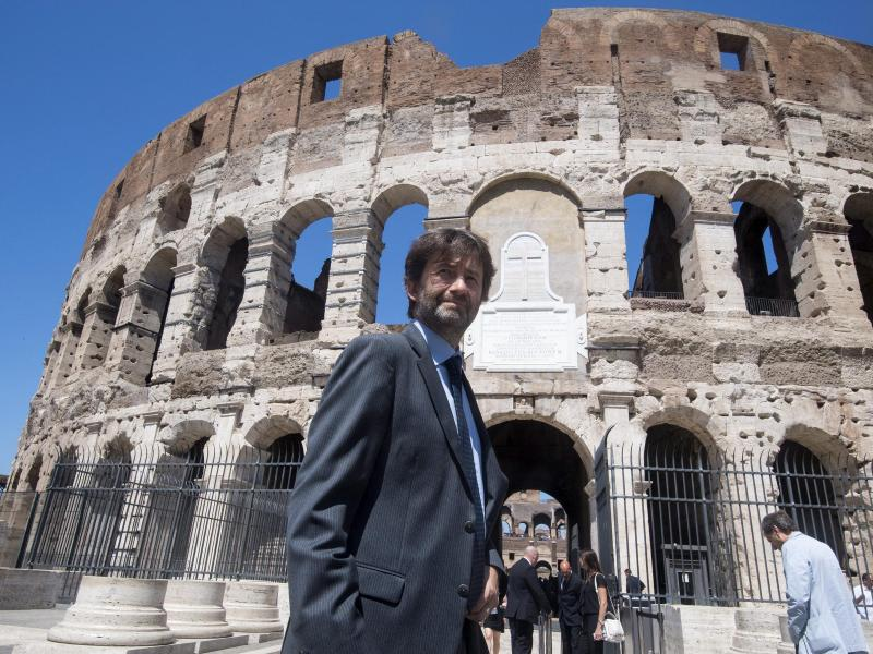 Bild zu Colosseum restoration