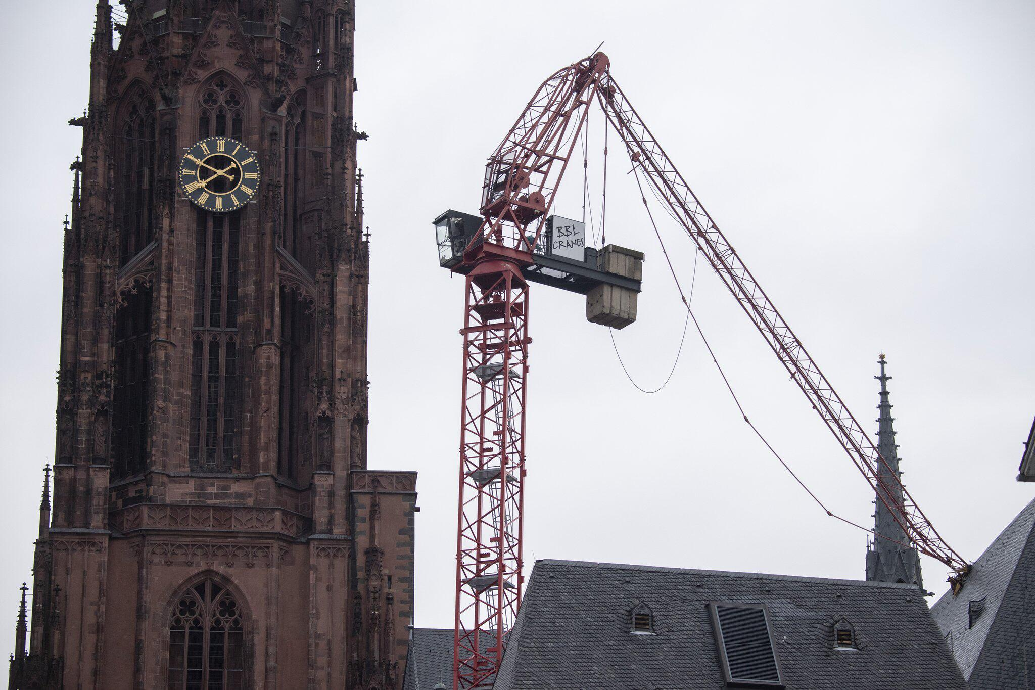 "Bild zu Sturmtief ""Sabine"" - Frankfurt am Main"