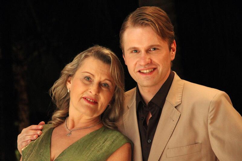 Bild zu Kai Uwe und seine Mutter Evy