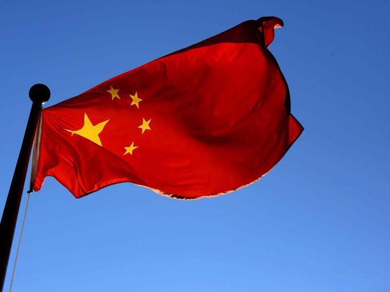 Bild zu Chinesische Flagge